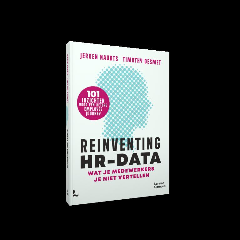 Wat mag je verwachten van ons boek 'Reinventing HR-data'?